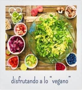 ser vegano con una dieta saludable