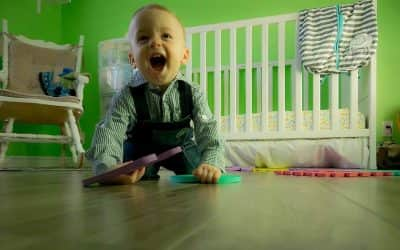 Ideas para decorar cuartos infantiles con materiales reciclados