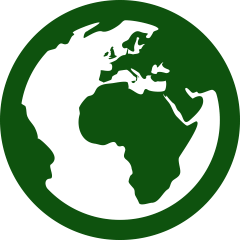 icono de producto sostenible y ecofriendly de ecólovy