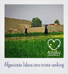 Afganistán es el líder de los países que más contaminan