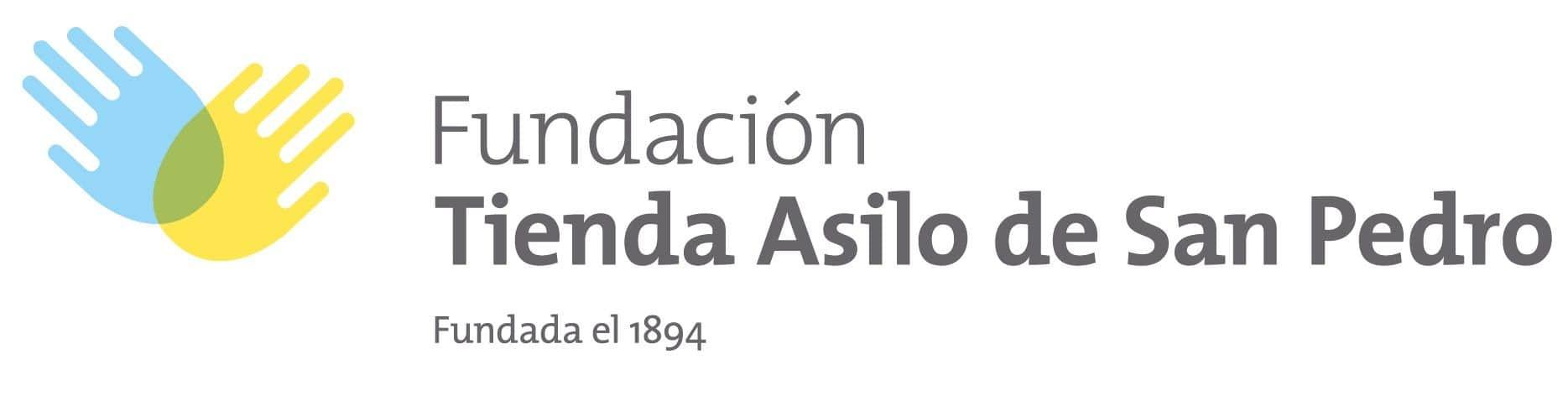 Logo fundación tienda asilo de san pedro
