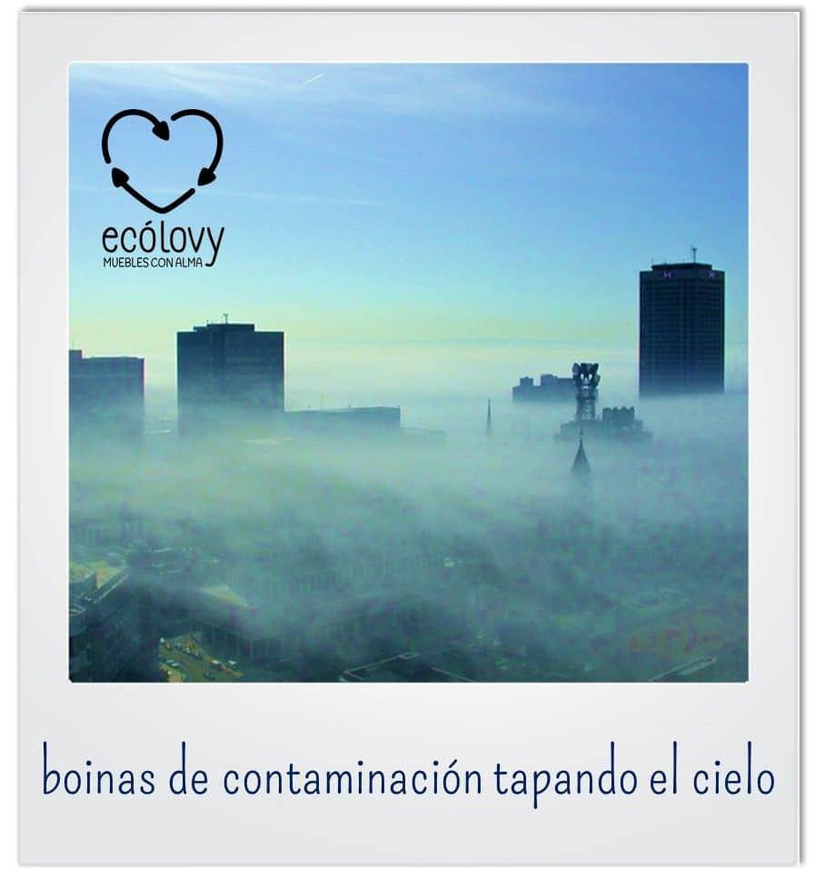 boina de contaminación en la ciudad más contaminada de España