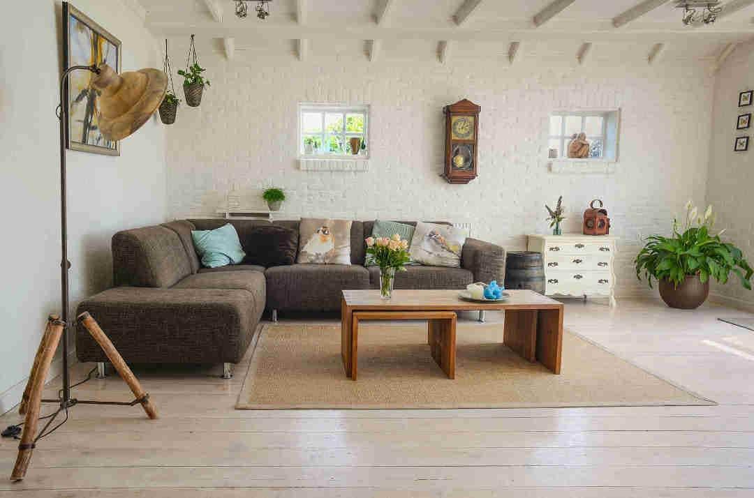 Dise帽o de interiores sostenible con madera