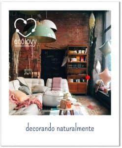 muebles reciclados para diseño de interiores sostenible