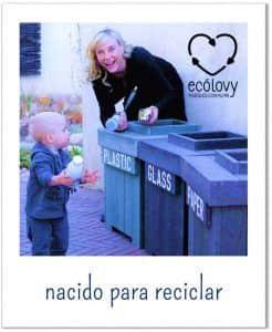 separar residuos para enseñar reciclar a niños primaria