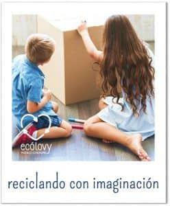reutilizar materiales para enseñar reciclar a niños primaria