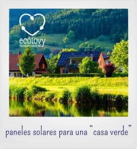 viviendas que usan fuentes de energía limpia