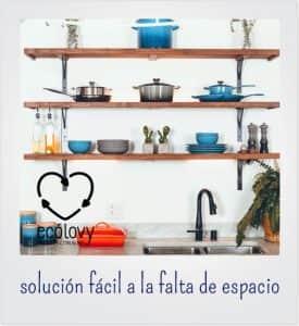 Muebles auxiliares de cocina prácticos y con estilo